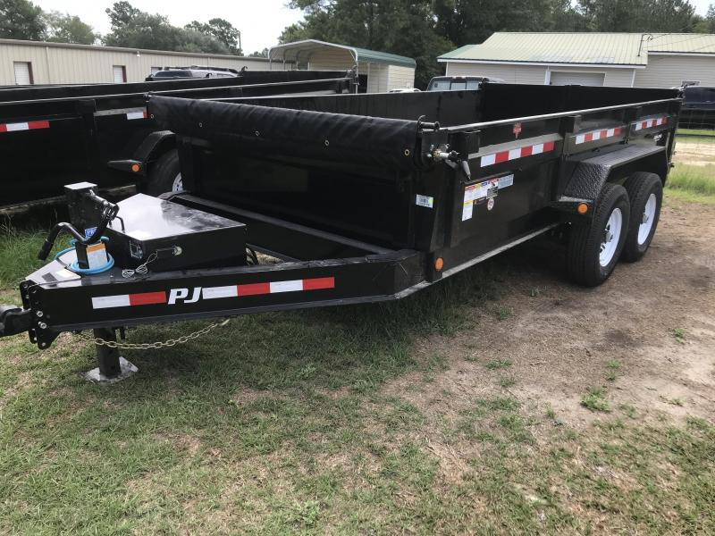 "2020 PJ Trailers 14'x83"" DL Low Pro Dump Trailer"