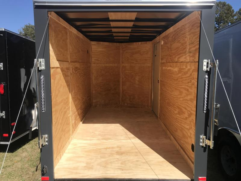 2020 Covered Wagon Trailers 6x12SA POWDER COATED Goldmine Enclosed Cargo Trailer
