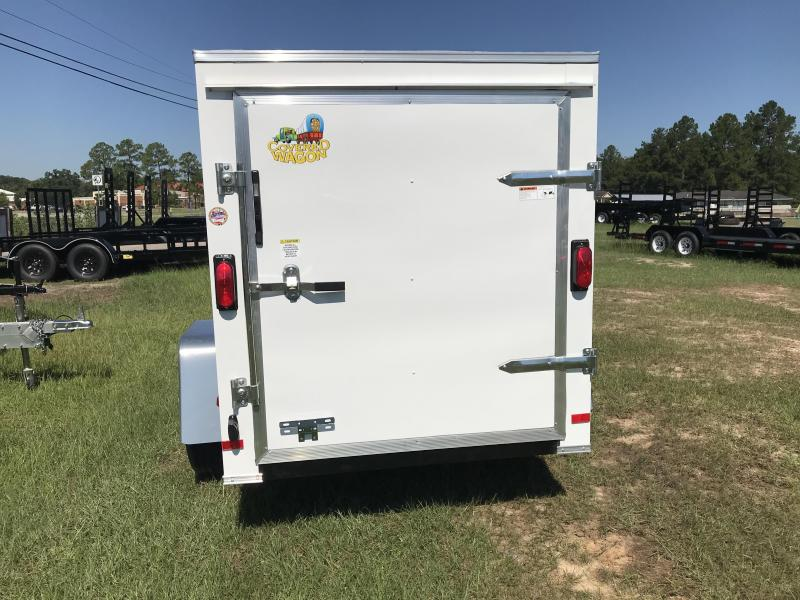 2020 Covered Wagon Trailers 5x8SA S.S. Enclosed Cargo Trailer