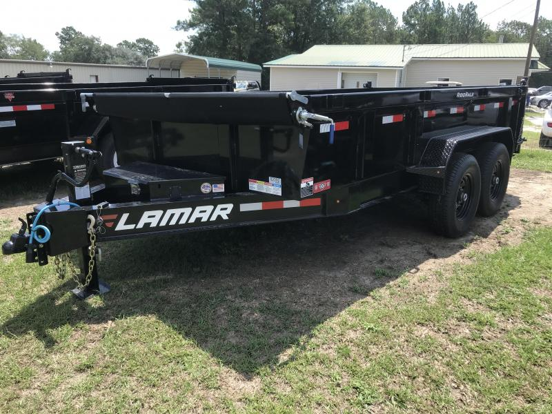 2019 Lamar Trailers 83x14 Low-pro 14k Dump Trailer