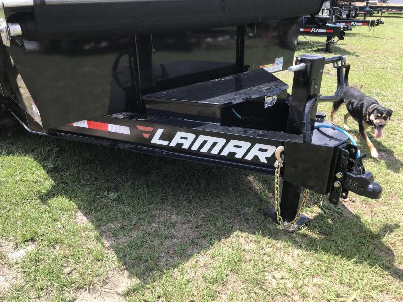 2019 Lamar Trailers 83x14 Low-pro 14k Dump Trailer