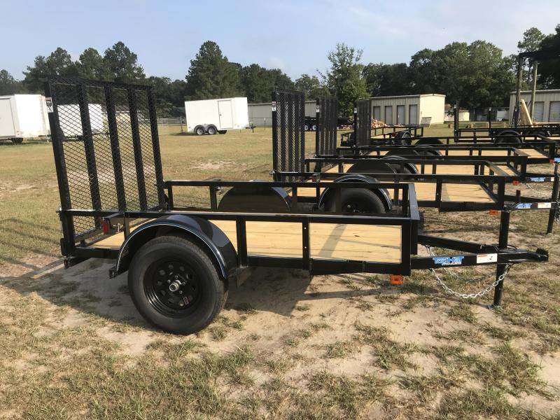 2020 Top Hat Trailers 5x8SA Utility Trailer