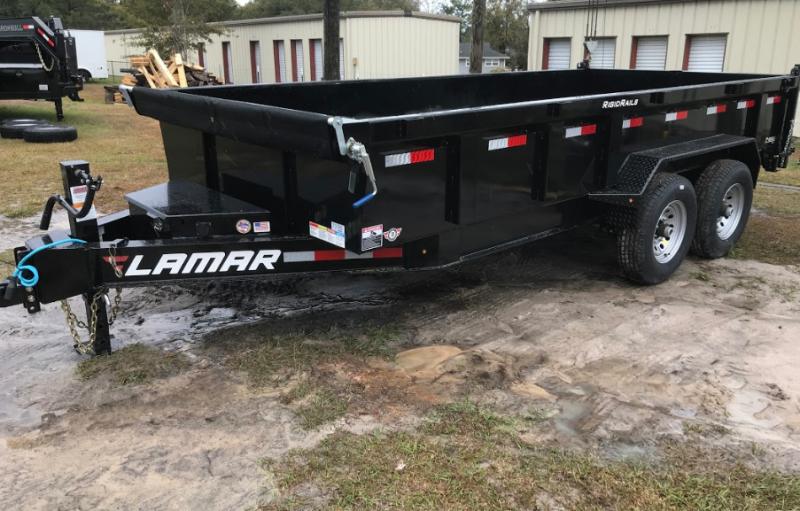 2018 Lamar Trailers 83x16' Low-Pro 14k Dump Trailer