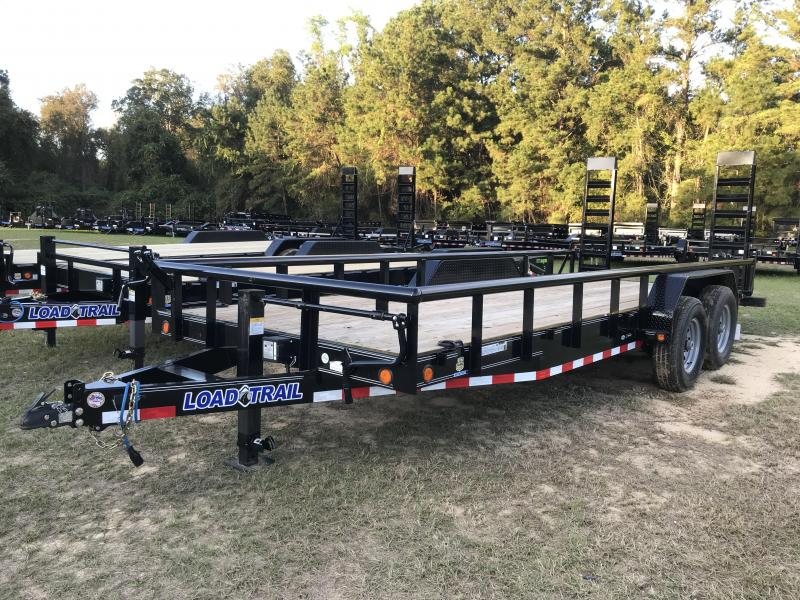 2020 Load Trail 83x20TA Hauler w/ Side Railing Equipment Trailer