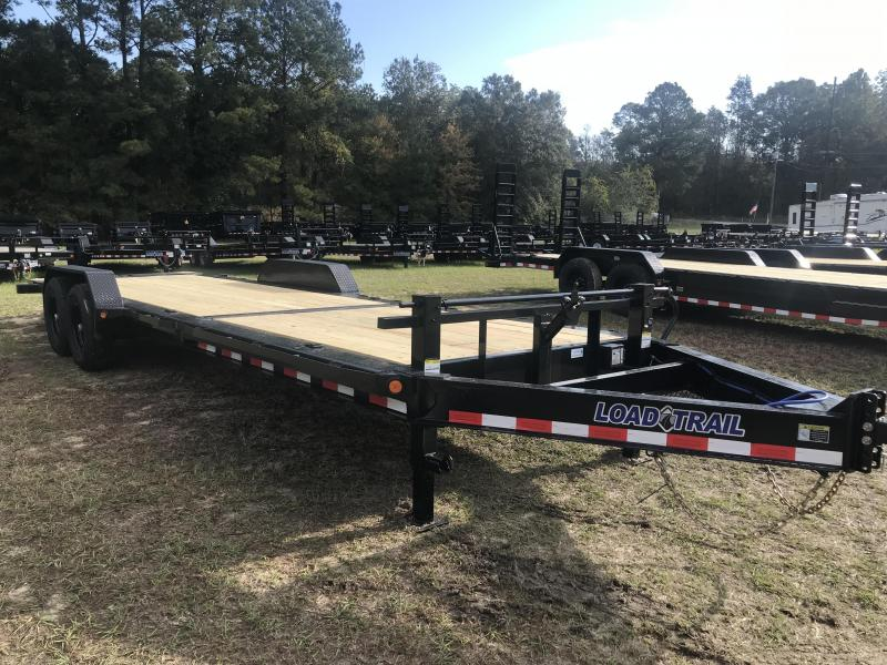 "2020 Load Trail 83"" X 24' Tilt-N-Go Tilting Deck Equipment Trailer"