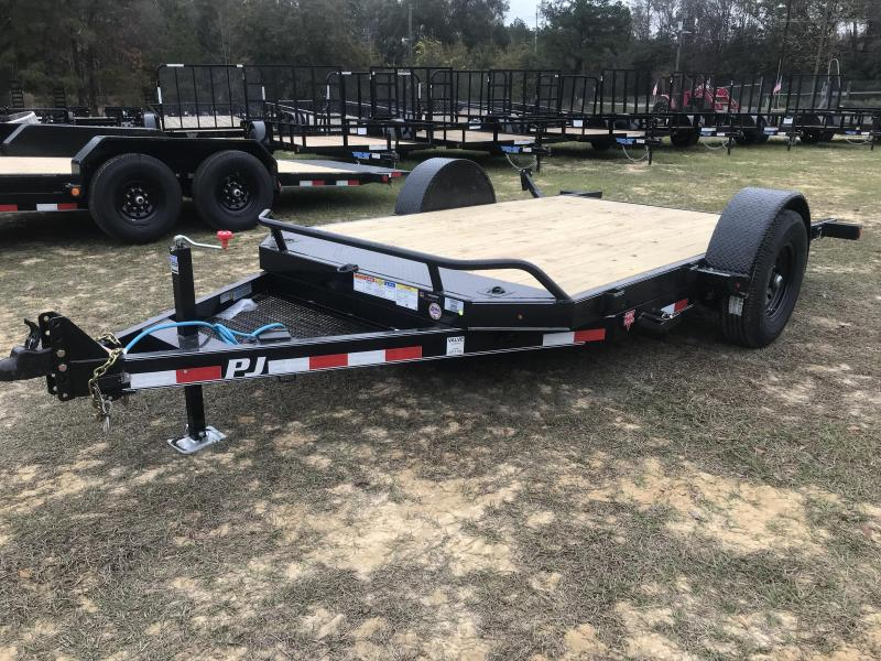 "2020 PJ Trailers 81""x13' SA HD TILT Equipment Trailer"