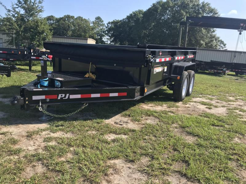 "2020 PJ Trailers 83""x14' DL Low-Pro Dump Trailer"