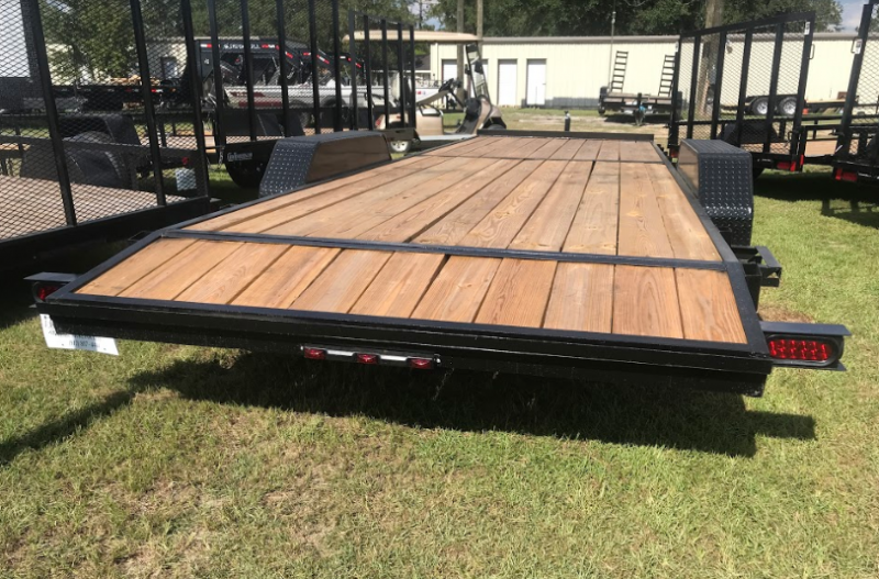 2018 MidSouth 7x24TA Car Hauler Equipment Trailer