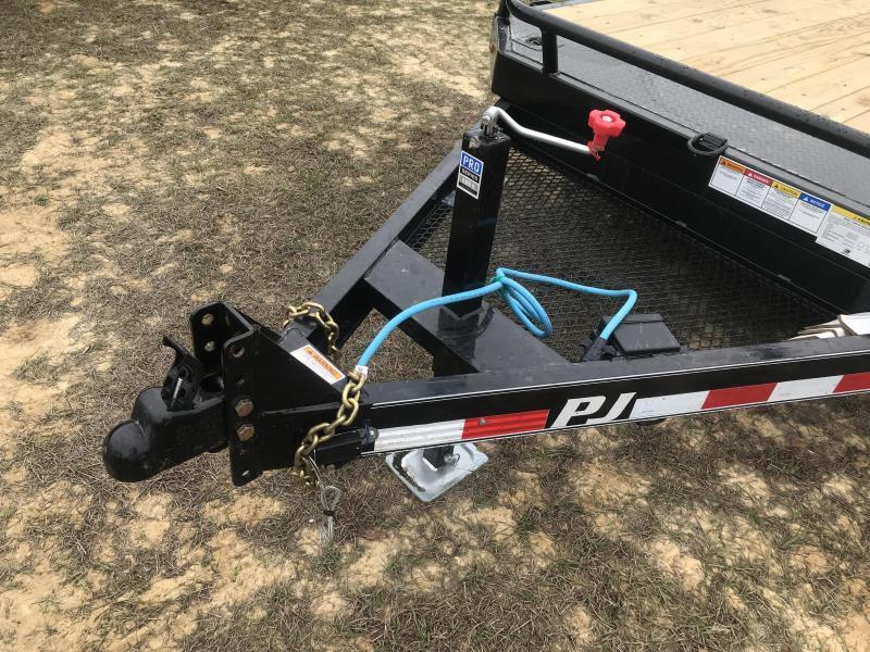 "2020 PJ Trailers 81""x13' SA HD TILT Equipment Trailer"