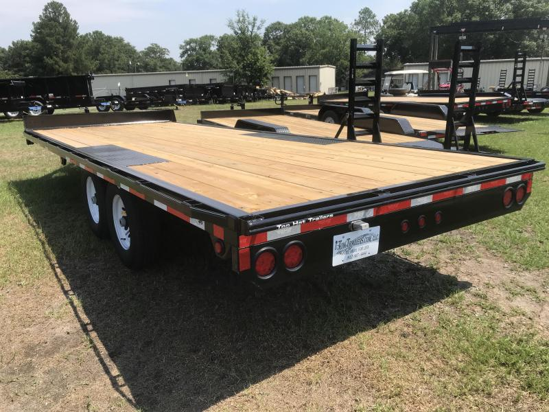 "2019 Top Hat Trailers 20x96"" DECK OVER 14K Flatbed"