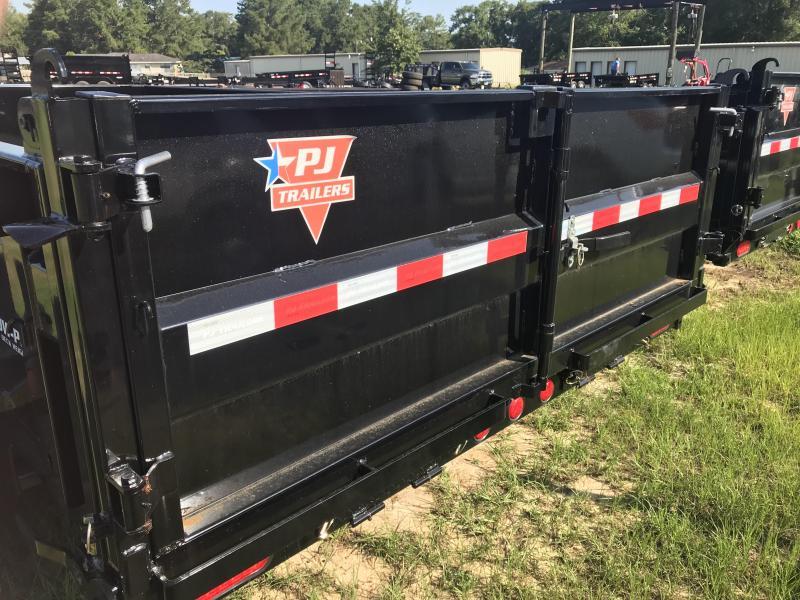 "2020 PJ Trailers 83""x14' DL Low-Pro Dump Trailer"