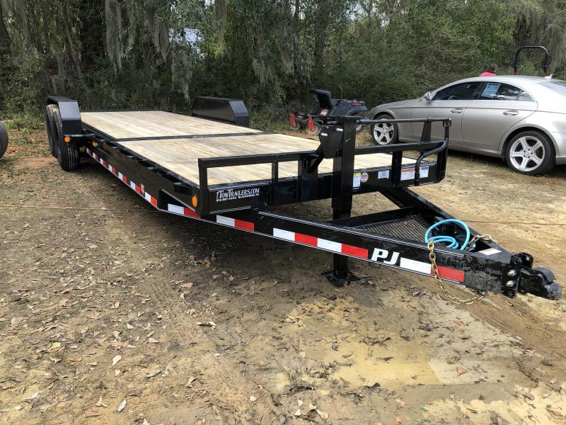 "2020 PJ Trailers 83x24 6"" Channel TILT Equipment Trailer"