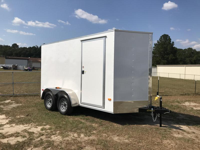 2020 Covered Wagon Trailers 6X12TA XTRA HEIGHT Enclosed Cargo Trailer