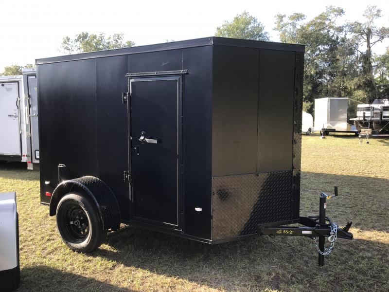 2020 Covered Wagon Trailers 5x8SA Goldmine POWDER COATED Enclosed Cargo Trailer
