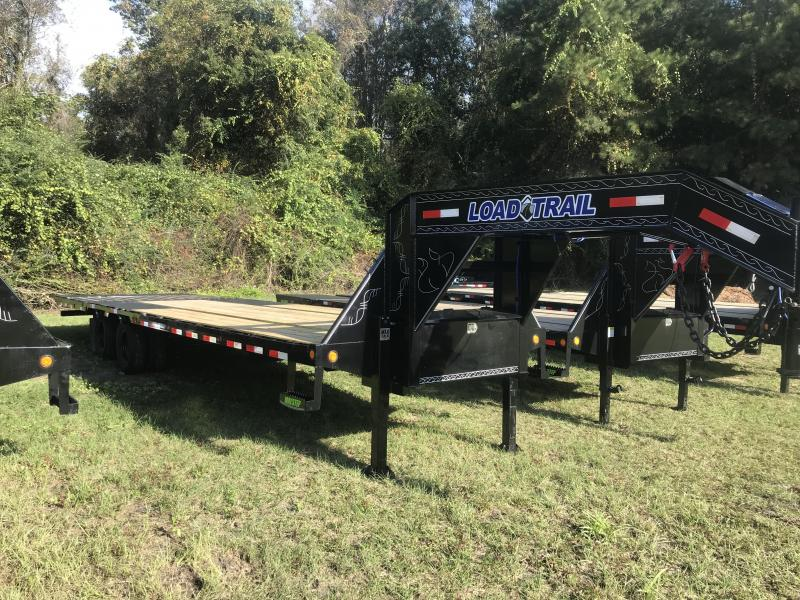 2020 Load Trail 102 x 32 Tandem Low-Pro Gooseneck w/Hyd. Dove Equipment Trailer