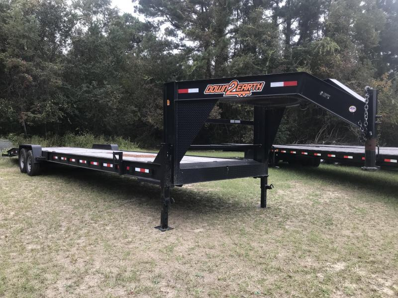 2018 Down 2 Earth Trailers 82x36TA 14k Carhauler Equipment Trailer