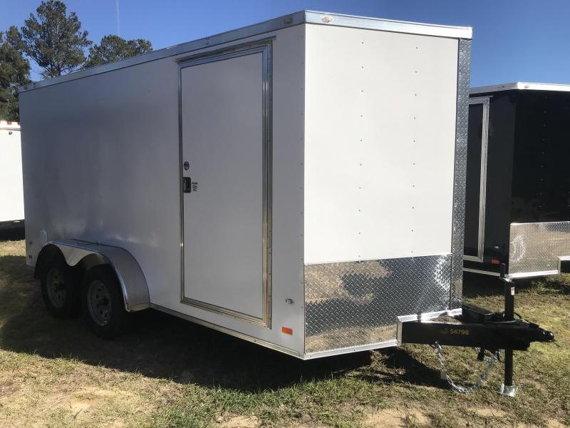 2020 Covered Wagon Trailers 7X14TA POWDER COATED Goldmine Enclosed Cargo Trailer