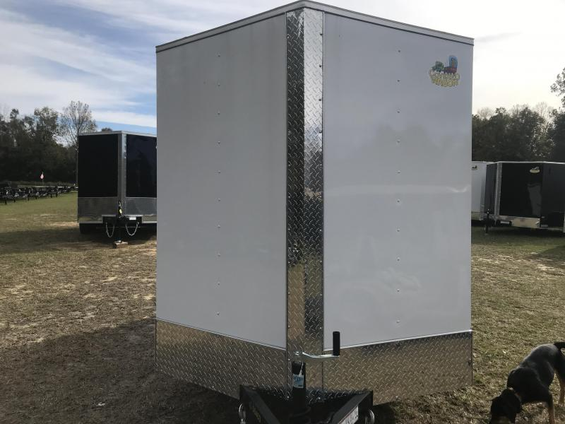 2020 Covered Wagon Trailers 6X12SA S.S. Enclosed Cargo Trailer