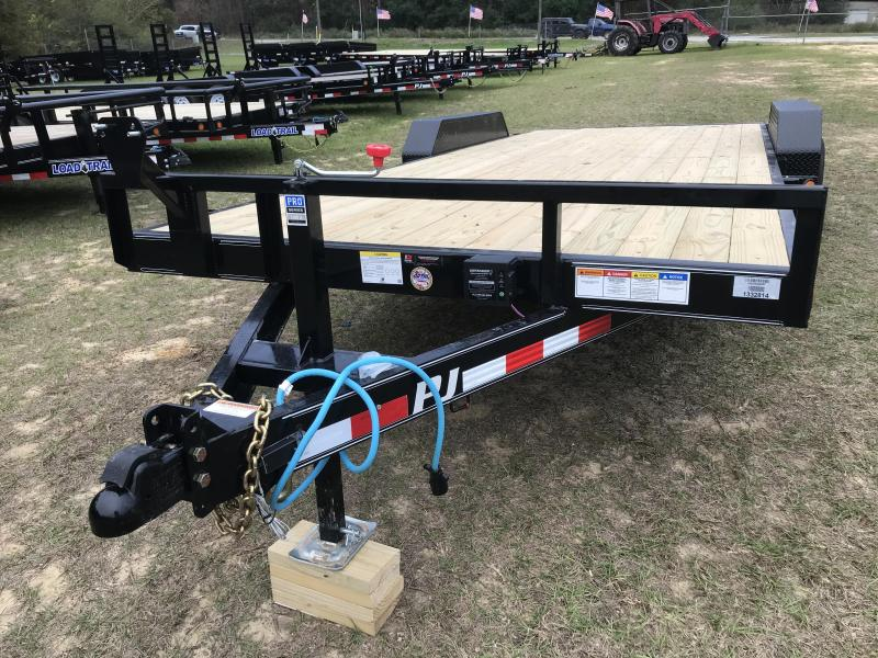 "2020 PJ Trailers 83""x20' Channel 10k Equipment Trailer"