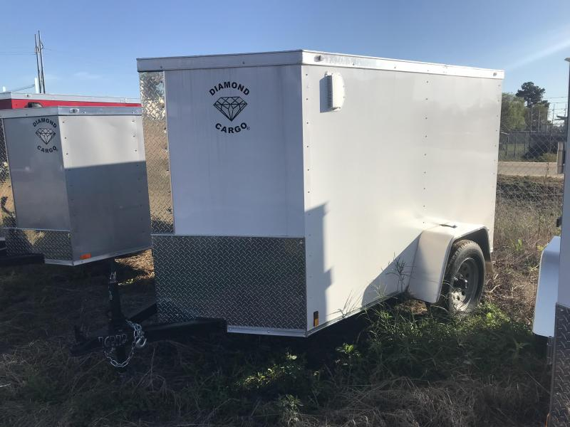 2020 Diamond Cargo 5x8 SA Enclosed Cargo Trailer