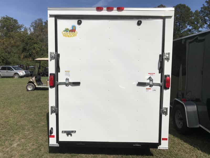 2020 Covered Wagon Trailers 6x12SA S.S. XTRA HEIGHT Enclosed Cargo Trailer