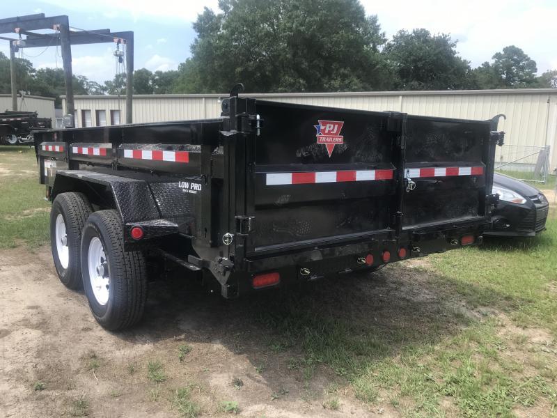 2020 PJ Trailers 83x14 DL Low Pro Dump Trailer