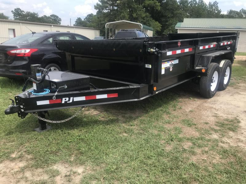 2020 PJ Trailers 83x14 DL Low Pro Dump Trailer