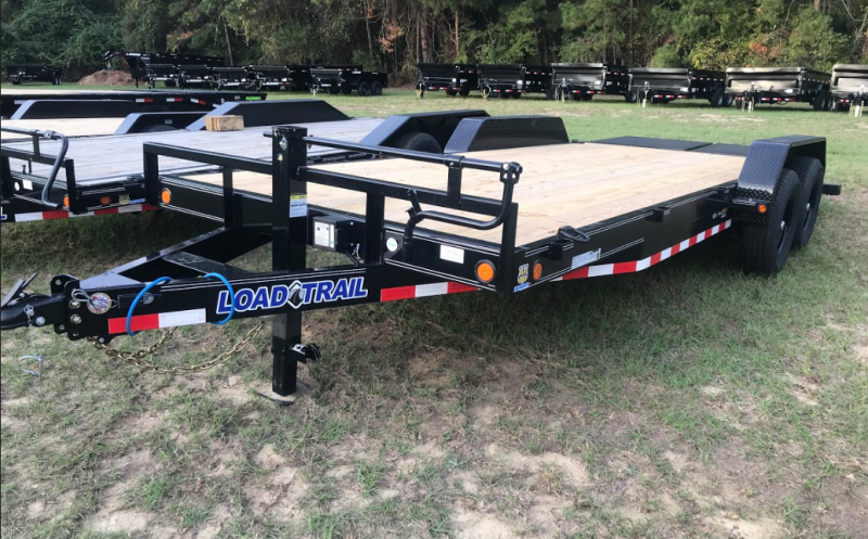 2020 Load Trail 83 x 20 TA Carhauler Equipment Trailer