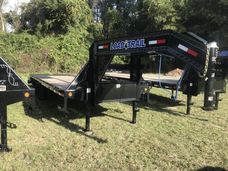 2020 Load Trail 102x25 Low-Pro Gooseneck w/ MAX RAMPS