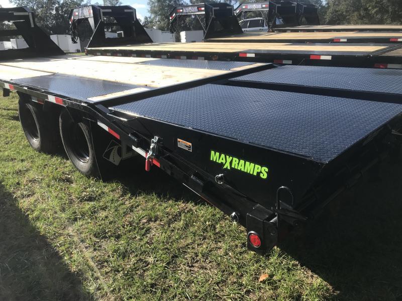 2020 Load Trail 102x25 Low-Pro Gooseneck w/ MAX RAMPS