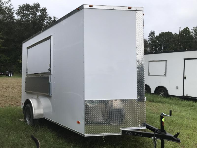 2020 Freedom Trailers 6X12SA FULLY LOADED Vending / Concession Trailer