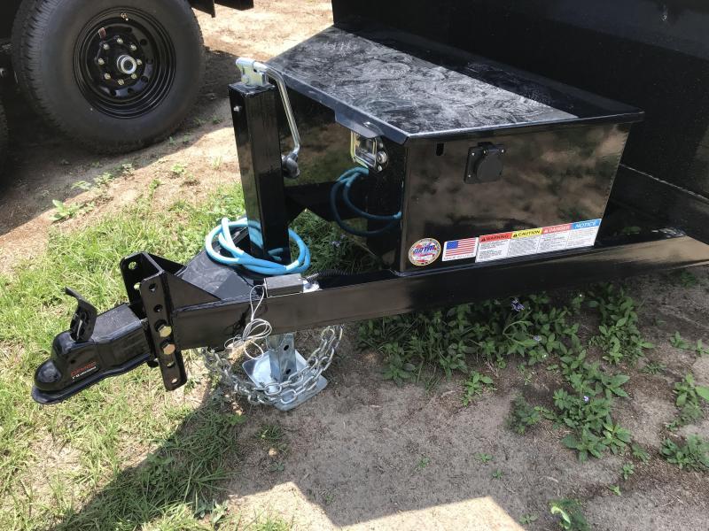2019 Lamar Trailers 60x10 Mini 7k Dump Trailer