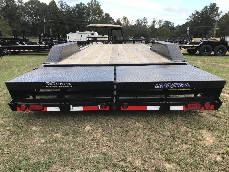 2020 Load Trail 102x22TA Car Hauler w/ MAX RAMPS Equipment Trailer