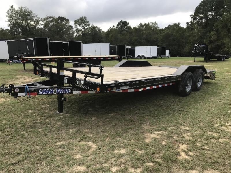 2020 Load Trail 102x22TA Car Hauler w/ MAX RAMPS Equipment Trailer