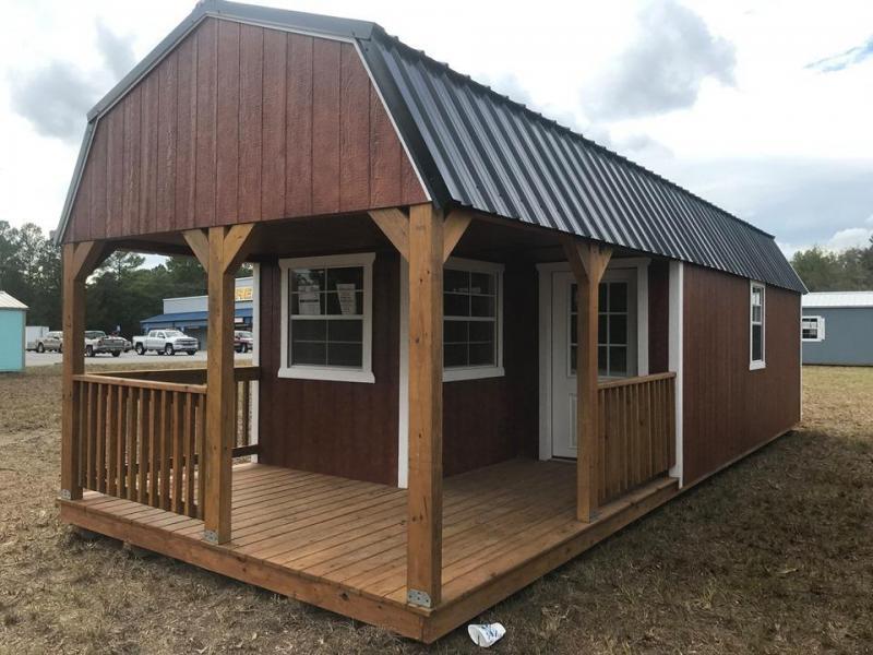 2020 Stor-Mor 12x32 Deluxe Lofted Barn Cabin