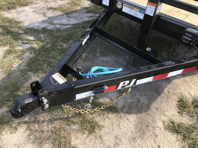 "2020 PJ Trailers 83x18 6"" Channel Equipment (CC) Equipment Trailer"