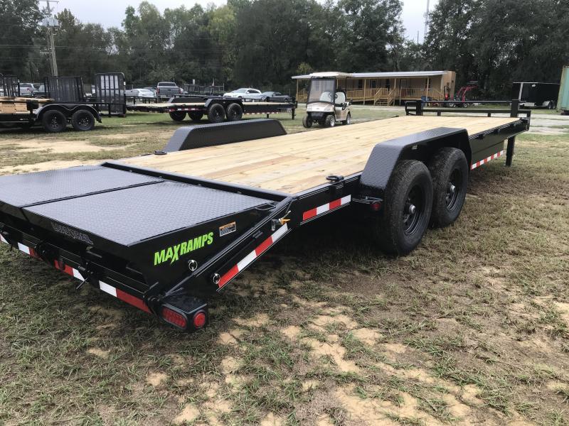 2020 Load Trail 83x24 Hauler w/MAX RAMPS Equipment Trailer