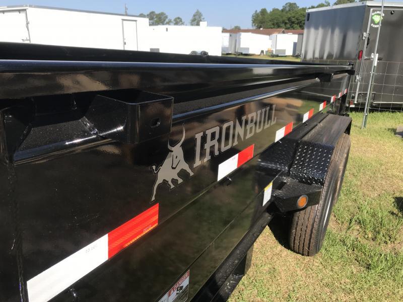2019 Iron Bull 83x16DT Dump Trailer