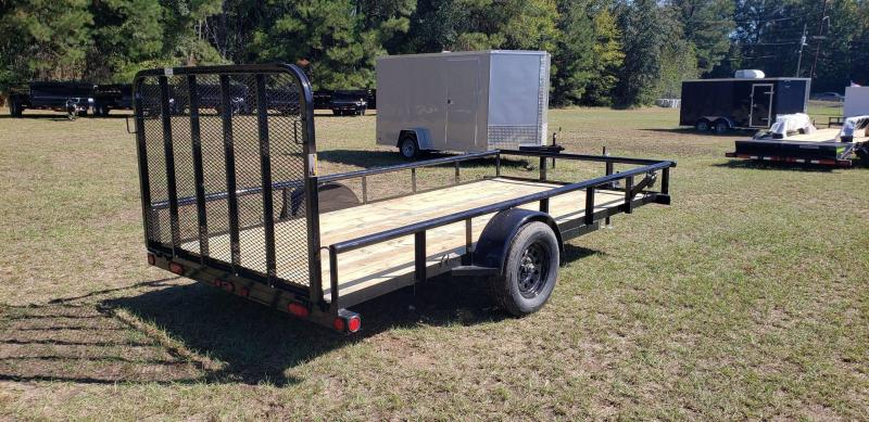 2020 Load Trail 77 x 14 Single Axle Utility Trailer