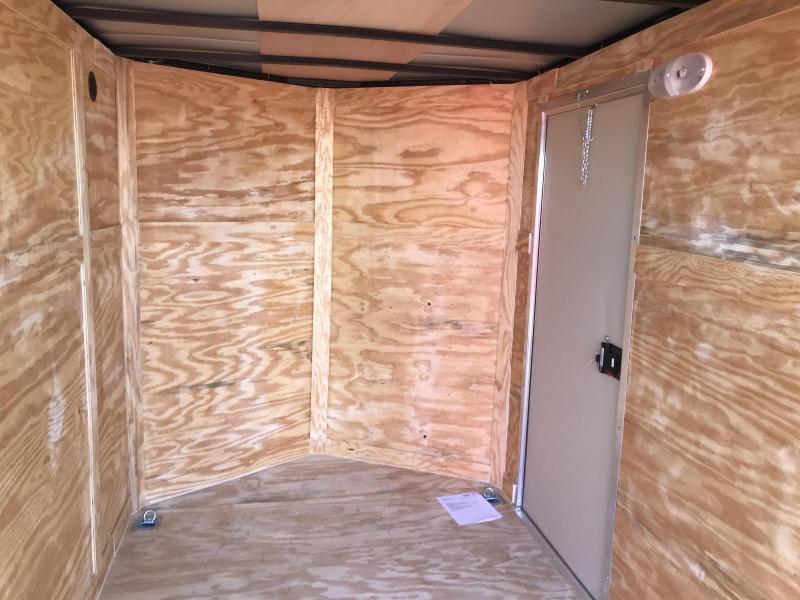 2020 Diamond Cargo 6x10 SA Enclosed Cargo Trailer