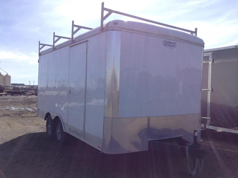 8.5' X 16' ENCLOSED CONSTRUCTION TRAILER - $1000 OFF LIST PRICE