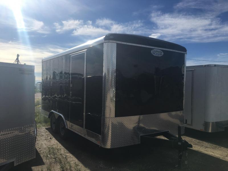 2019 - 8.5'x16' Continental Cargo w/ Ramp Door