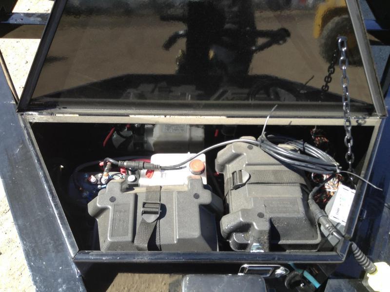 2019 Lamar Triple Axle Torsion Dump Trailer