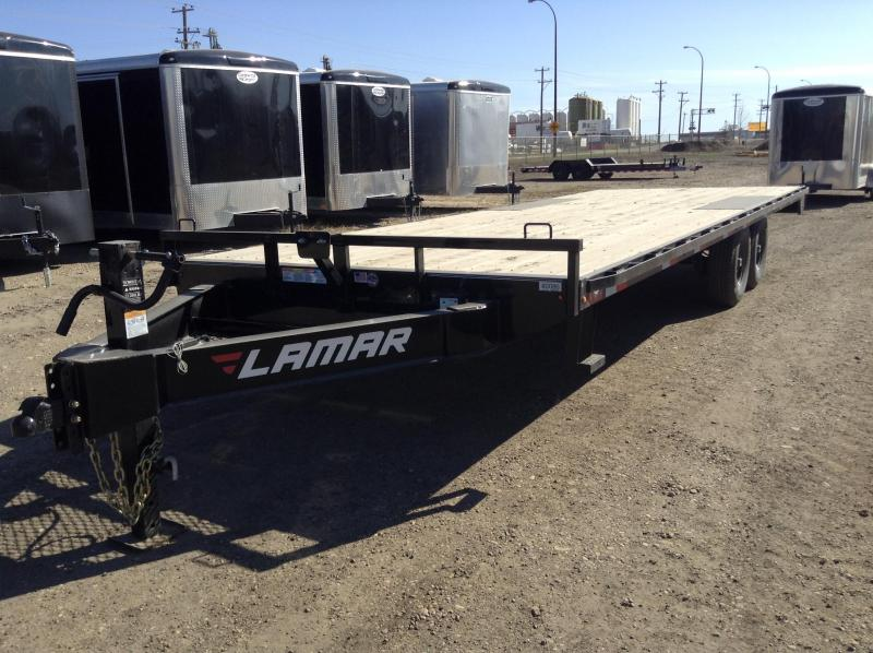 2019 Lamar Trailers 24FT DECKOVER Equipment Trailer