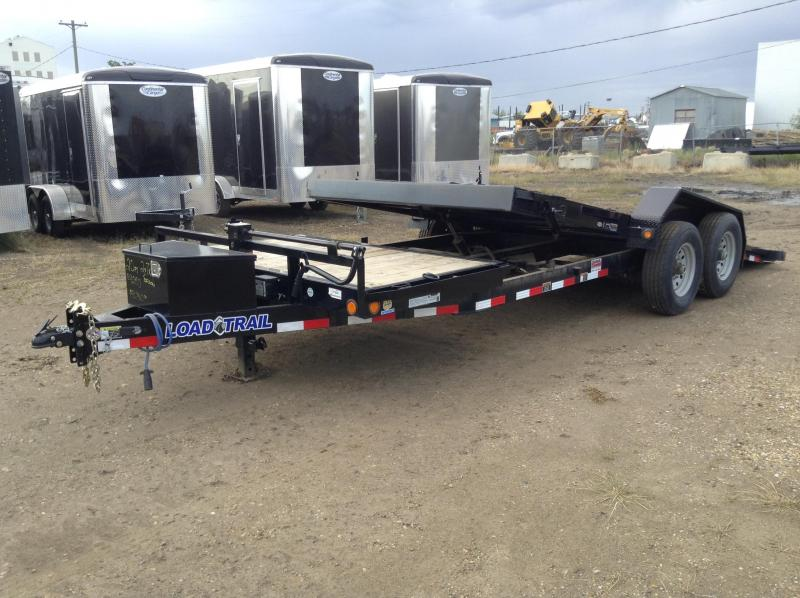 Canada Trailers CUSHION TILT Equipment Hauler