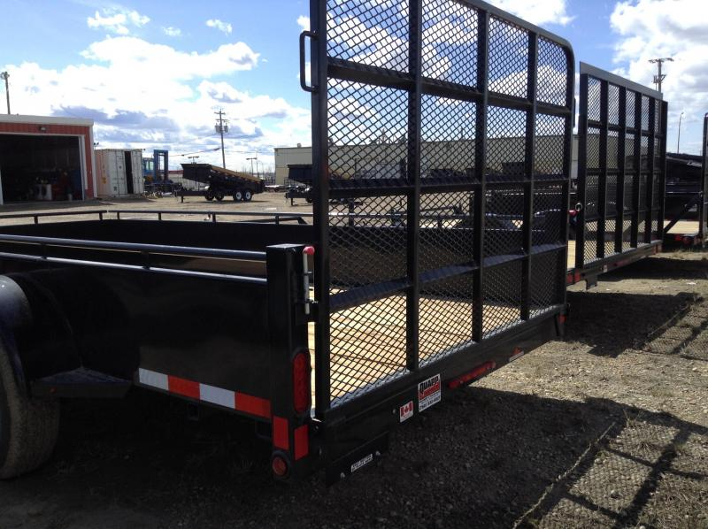 2020 Canada Trailers 5 - 6 - 7FT WIDE UTILITIES Utility Trailer