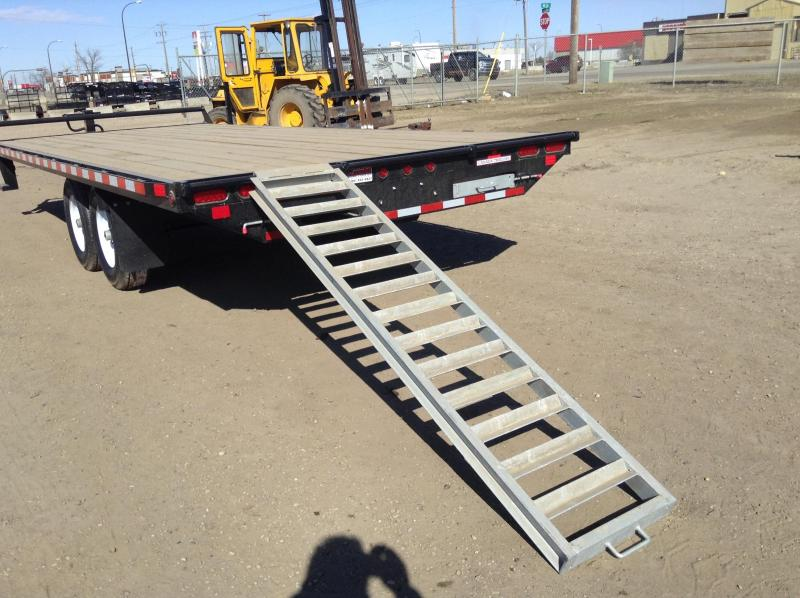 2020 Canada Trailers 20FT DECKOVER Equipment Trailer