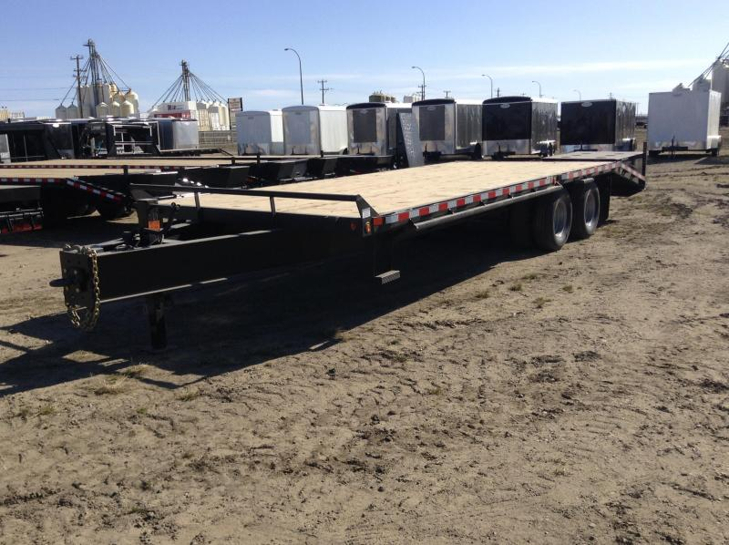 2019 Canada Trailers 25FT 2X12K DECKOVER Equipment Trailer