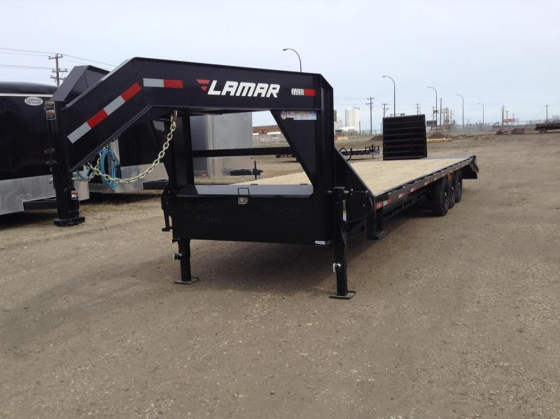 2020 Lamar 30' Triple Axle Gooseneck Trailer