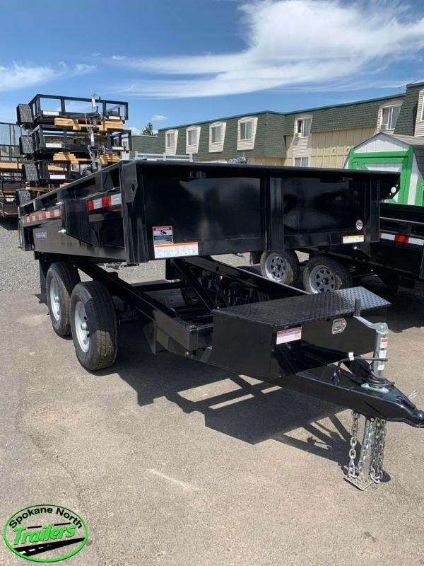 2020 Sure-Trac 6X10 Deckover Dump 10K Single Ram